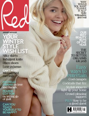 RED MAGAZINE HOLLY WILLOUGHBY